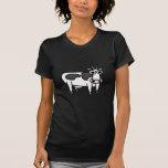 Vaca del dibujo animado camiseta