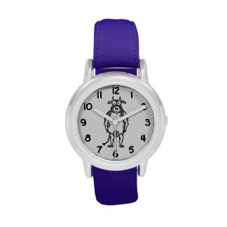 Vaca del dibujo animado relojes de mano
