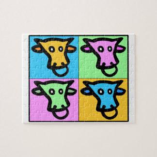 Vaca del estallido puzzle
