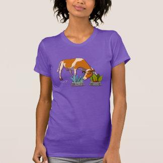 Vaca del inconformista camiseta