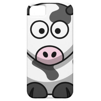 Vaca del MOO del dibujo animado Funda Para iPhone 5 Barely There