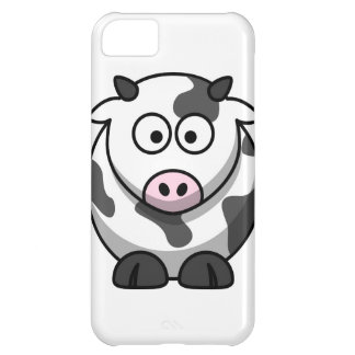 vaca del MOO del dibujo animado Funda Para iPhone 5C