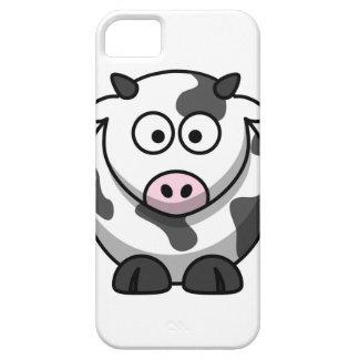 vaca del MOO del dibujo animado iPhone 5 Cárcasa