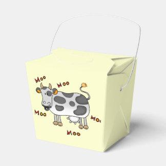 vaca del MOO del MOO Cajas Para Regalos