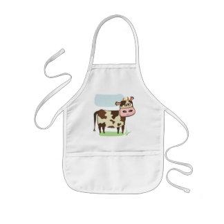 Vaca del MOO Delantal
