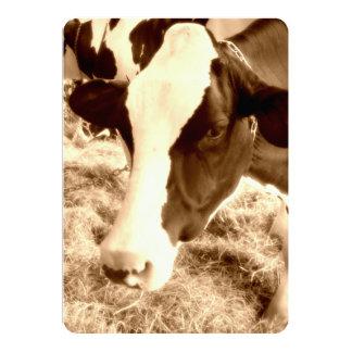 Vaca del MOO Comunicado Personalizado