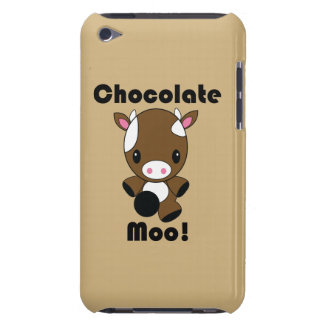 Vaca del MOO Kawaii del chocolate Case-Mate iPod Touch Protector