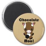 Vaca del MOO Kawaii del chocolate Iman Para Frigorífico