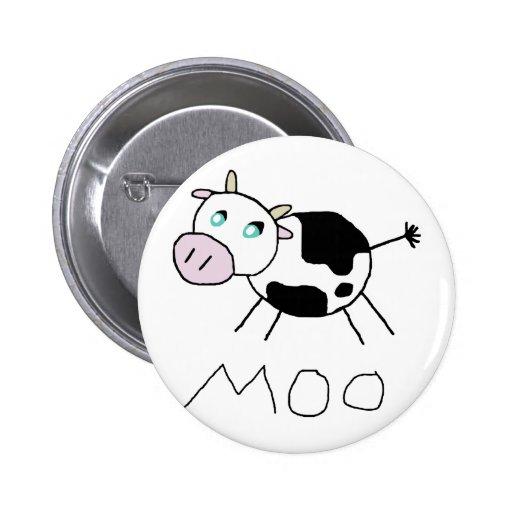 Vaca del MOO Pin