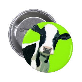 ¡Vaca del MOO! Pin Redondo De 2 Pulgadas