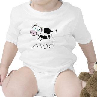 Vaca del MOO Traje De Bebé