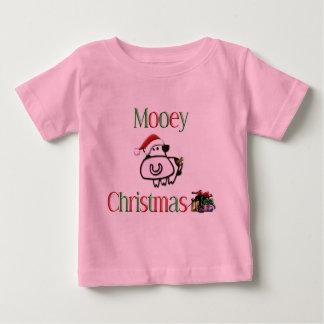 Vaca del navidad de Mooey Camiseta