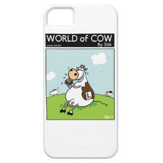 Vaca del principiante iPhone 5 Case-Mate cárcasa