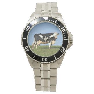 Vaca del sur de Devon en la mirada superior de la Relojes De Mano