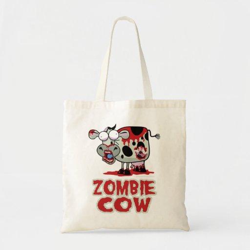 Vaca del zombi bolsa de mano
