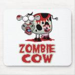 Vaca del zombi tapetes de raton