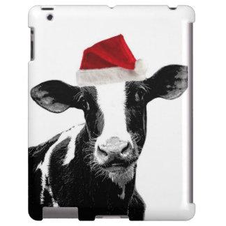 Vaca divertida de Santa del navidad