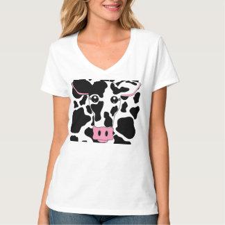 Vaca e impresión de la vaca playera