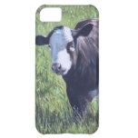 Vaca en hierba