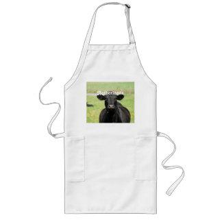 Vaca en Países Bajos Delantal Largo