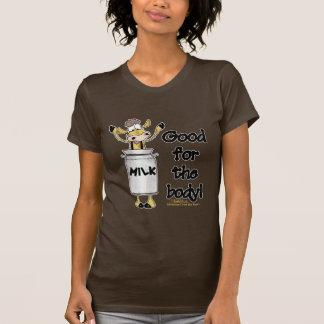 Vaca en poder de la leche camisetas