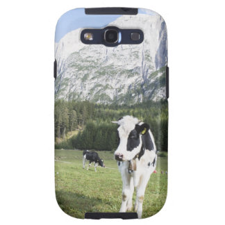 Vaca en un prado Fie Sciliar Allo alto el Adigio Galaxy S3 Protector