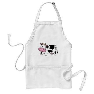 Vaca feliz delantal