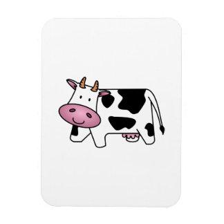 Vaca feliz imán flexible