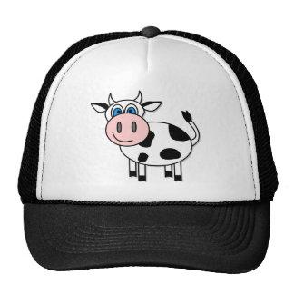 ¡Vaca feliz - personalizable! Gorro De Camionero