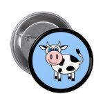 ¡Vaca feliz - personalizable! Pins