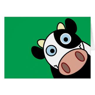 Vaca feliz tarjetas