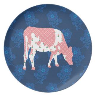 Vaca frisia, koe de Friese Plato