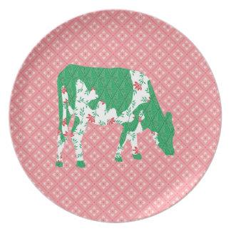 Vaca frisia, koe de Friese Platos De Comidas