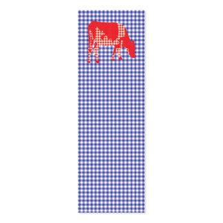 Vaca frisia, koe de Friese Tarjetas De Visita Mini