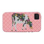 Vaca frisia, koe de Friese Vibe iPhone 4 Carcasas
