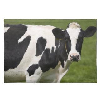 Vaca frisia manteles individuales