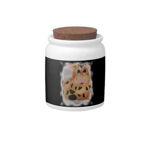 vaca gorda jarra para caramelo