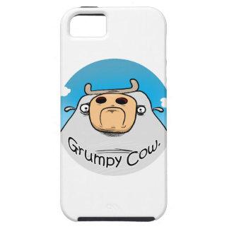 Vaca gruñona iPhone 5 carcasa