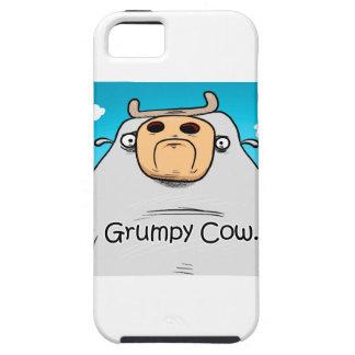 Vaca gruñona iPhone 5 fundas