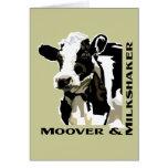 Vaca lechera de Moover Felicitacion