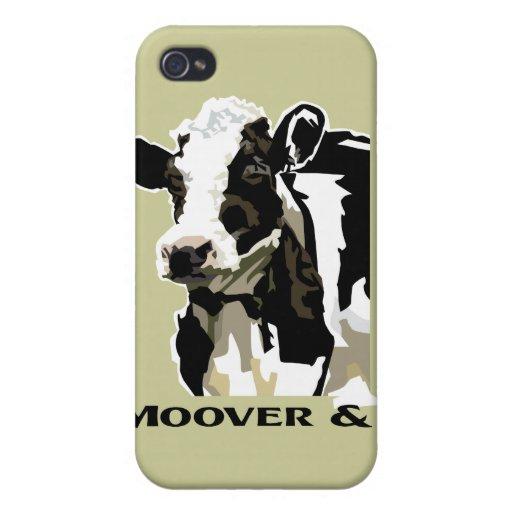 Vaca lechera de Moover iPhone 4/4S Funda