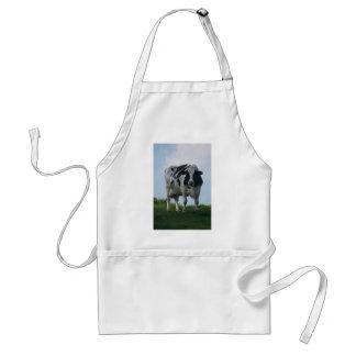 Vaca lechera de Vermont Delantal
