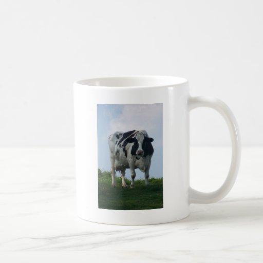 Vaca lechera de Vermont Taza De Café