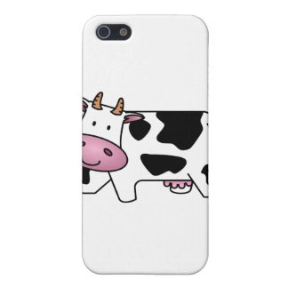 Vaca lechera linda iPhone 5 cárcasa