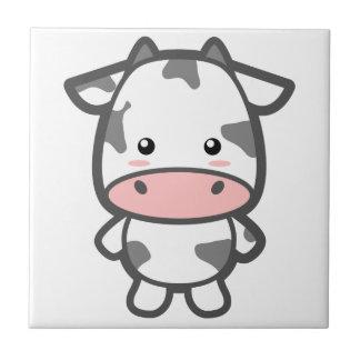 Vaca linda tejas  cerámicas