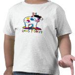 Vaca linda de KoolKidZnCo Kidz 1ra Camiseta