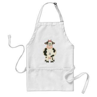 Vaca linda delantal