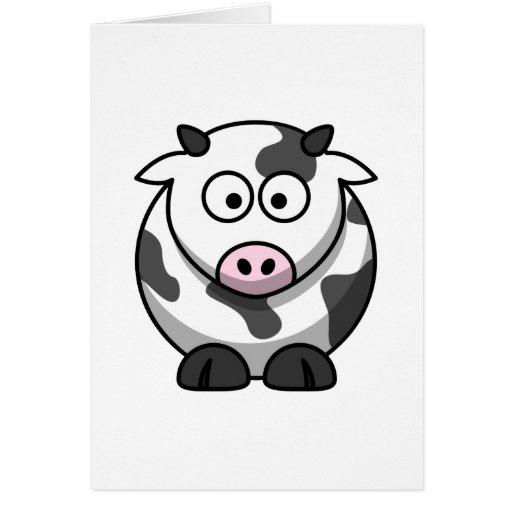 Vaca linda felicitacion