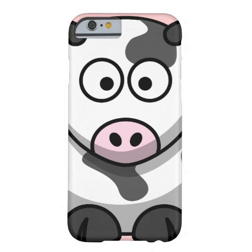 Vaca linda funda de iPhone 6 barely there