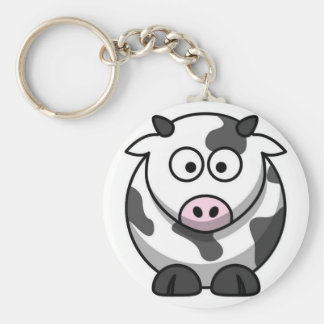 Vaca linda llaveros personalizados